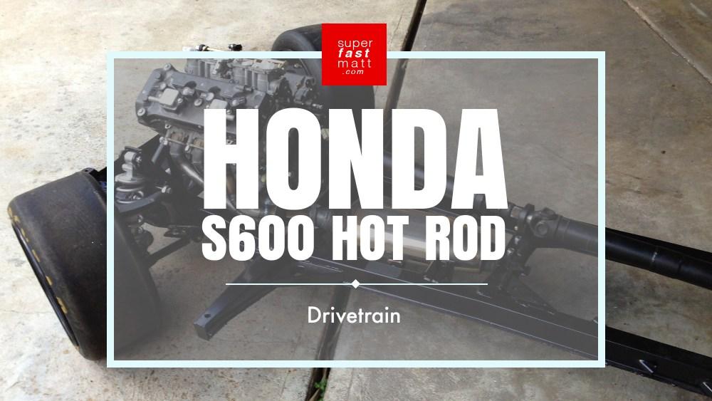 Honda S600 Motorcycle Drivetrain
