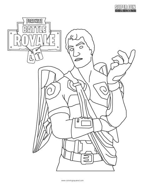 Fortnite Character Coloring Page on Suzuki Ts 250 Wiring Diagram