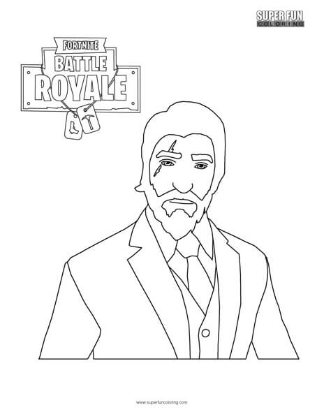 Tomato Head Fortnite Coloring Pages