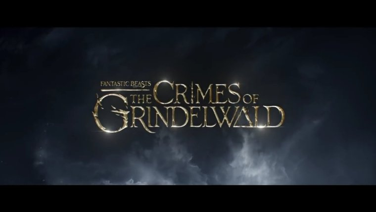 Fantastic Beasts Crimes of Grindlewald Title