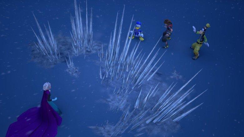 Kingdom-Hearts-3-Elsa-Ice-Spikes