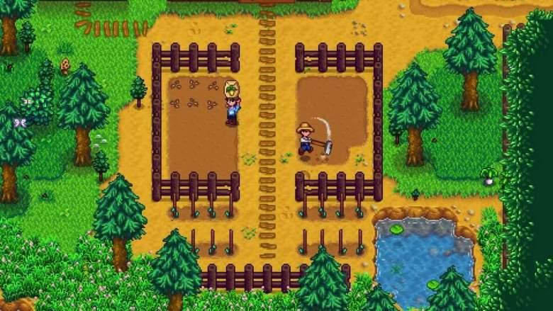 Stardew Valley Multiplayer Farming