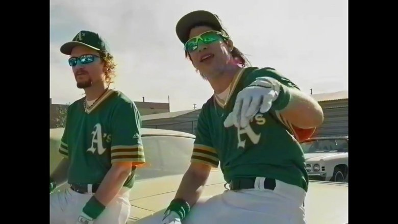 Andy Samberg and Akiva Schaffer as the Bash Brothers