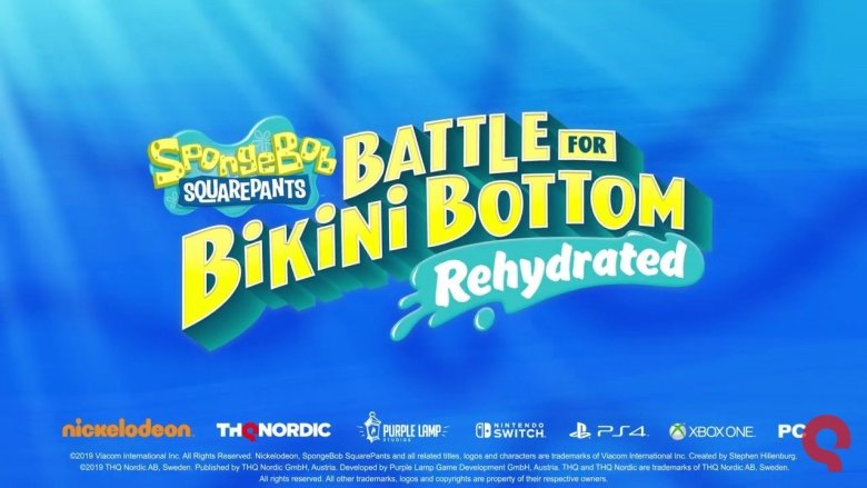 SpongeBob Battle for Bikini Bottom Rehydrated Coming Soon