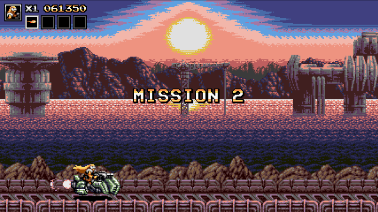 Blazing Chrome Speeder Bike Level