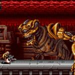 Hulking Alien Boss in Blazing Chrome
