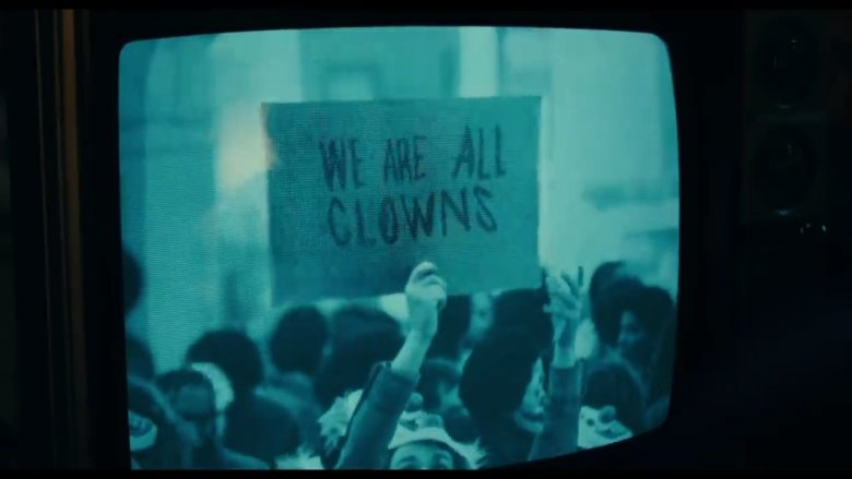 We Are All Clowns Sign