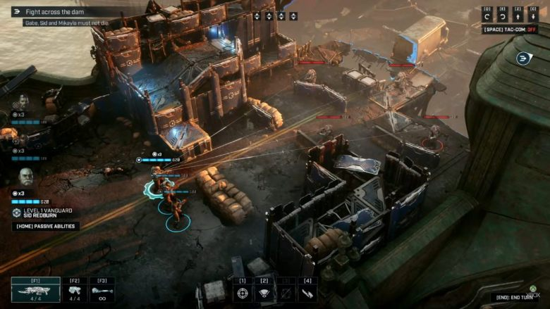 Gears Tactics Gameplay
