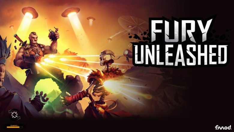 Fury Unleashed Title Screen