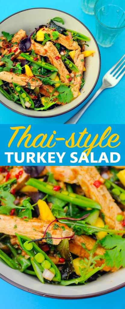 Healthy and delicious: Thai-style Turkey Salad