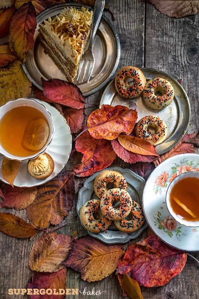 Supergolden Bakes: Chai-spiced Mini Baked Doughnuts