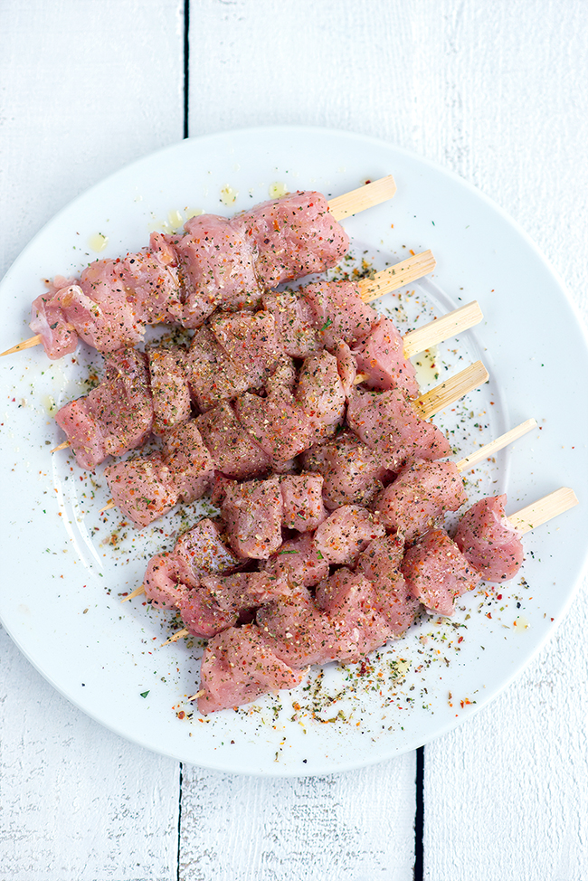 Greek pork souvlaki with tzatziki and homemade pitta bread – one of life's great pleasures and so easy to make!