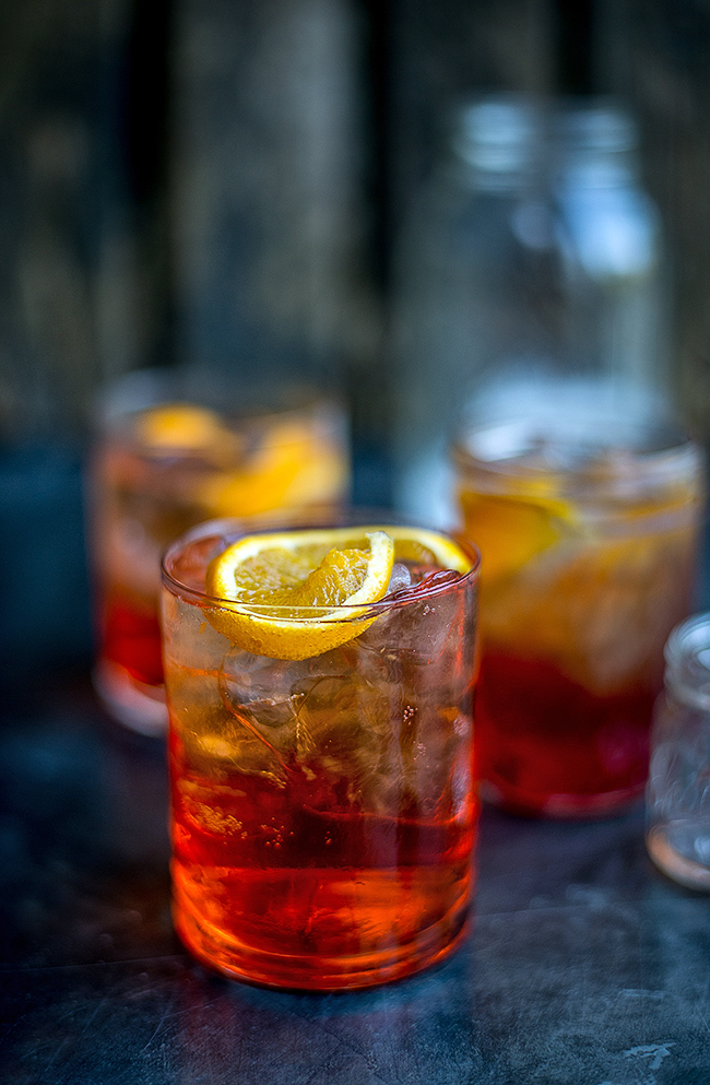Retro Cocktail Friday: Aperol Spritz and Vodka Negroni