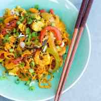 Healthy Stir-Fried Singapore Noodles