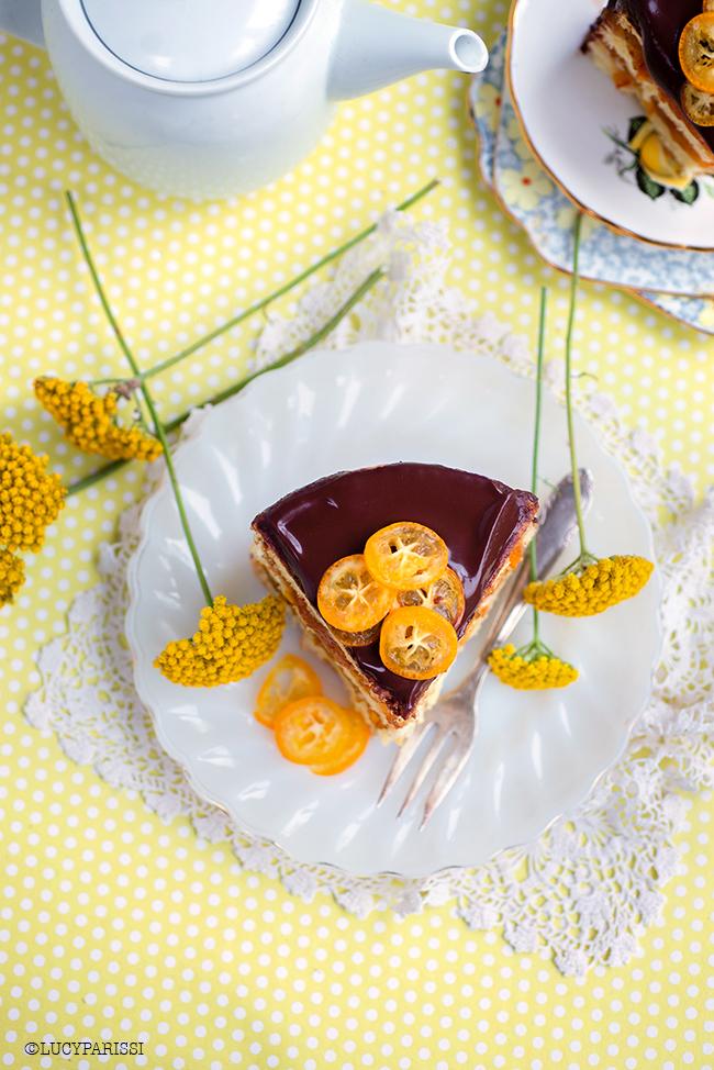 Jaffa Cake – Chocolate and Orange Layer Cake