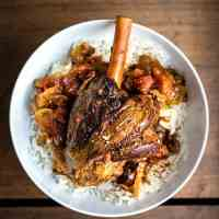 Slow Cooker Lamb Shank Rogan Josh
