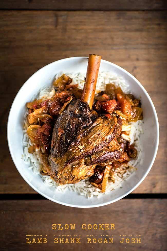 Slow Cooker Lamb Shank Rogan Josh