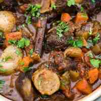 One-Pot Beef Stifado Stew
