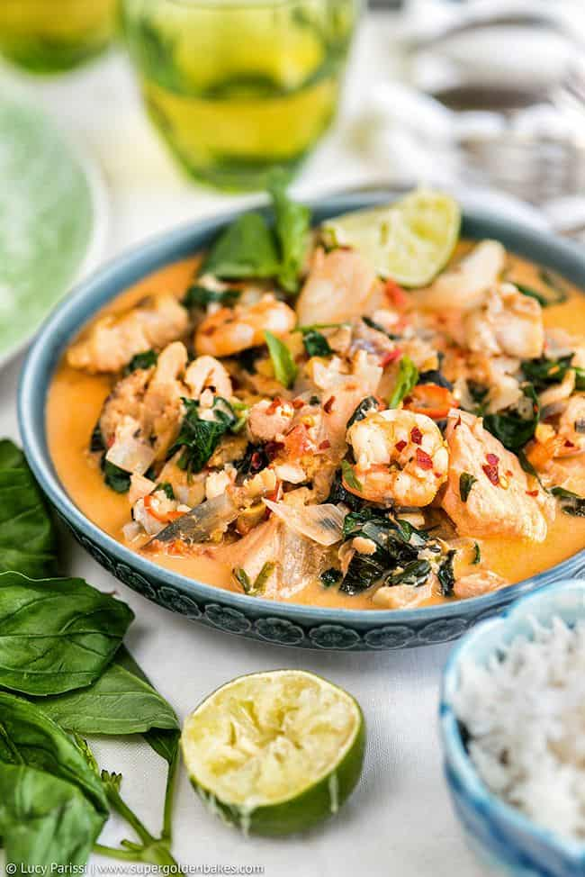 One-pot Thai Fish Stew