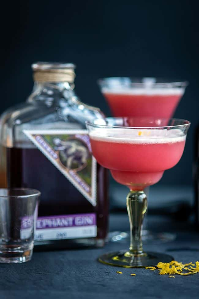 A gorgeous gin based cocktail – perfect for sipping on Valentine's Day. I usually double the quantities to serve two.