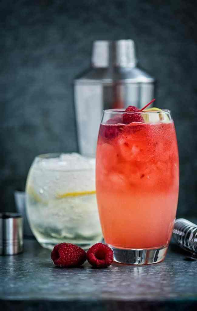 The Floradora and Elderflower Collins – two wonderfully refreshing gin-based cocktails