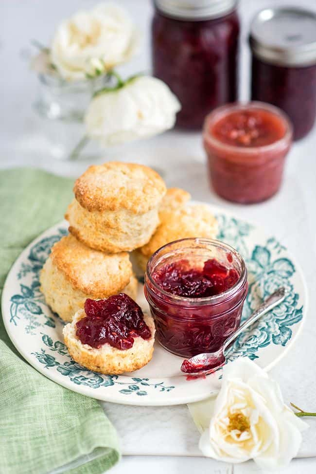 Lemon mascarpone scones - heavenly soft and fragrant scones, perfect for afternoon tea