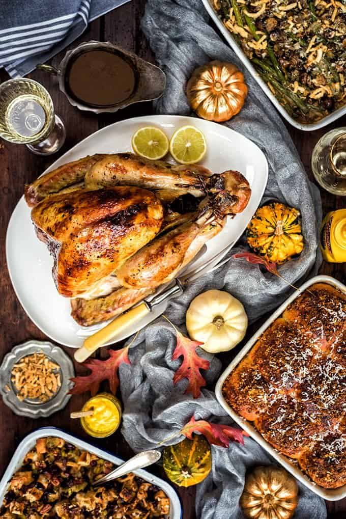 The best roast turkey and stuffing - your go-to recipe for Thanksgiving or Christmas
