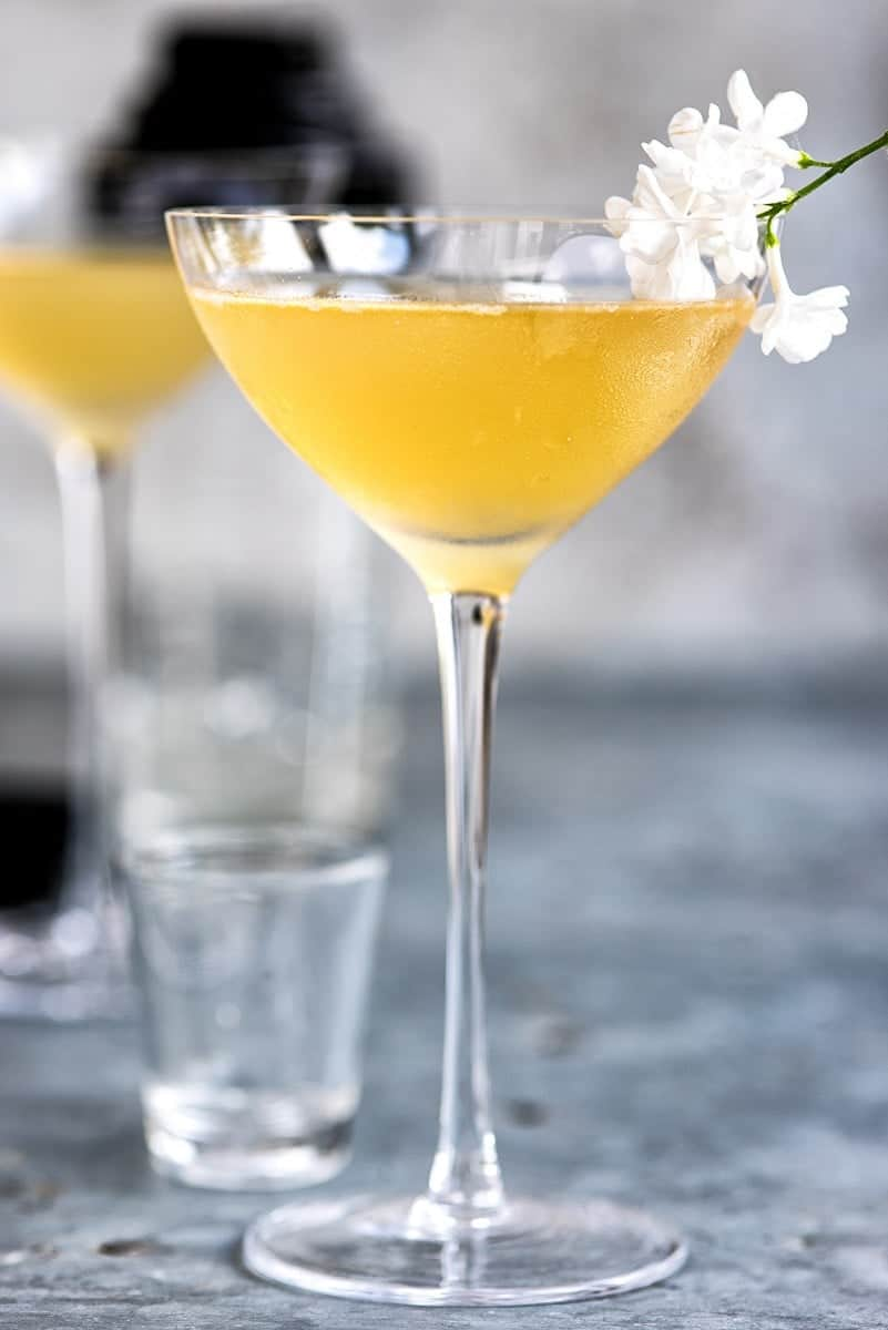 The Pegu Club Cocktail is overdue a revival! Gin, orange liqueur, lime juice a bitters make for a perfectly balanced and potent drink.