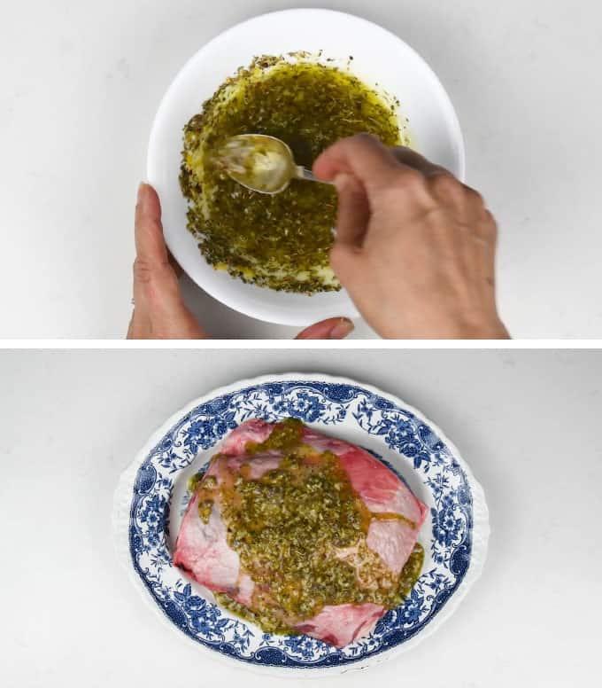 Lamb marinade