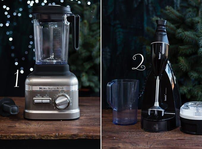 All I want for Christmas: A KitchenAid Artisan Blender and Bamix hand blender