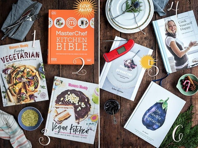 Cookbooks make great Christmas gifts. Enter my giveaway to win a selection of prizes