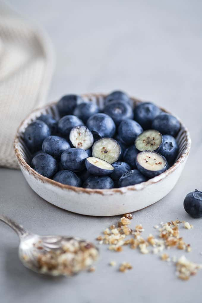 Fresh blueberries from Chile are available in the UK supermarkets from January untill March