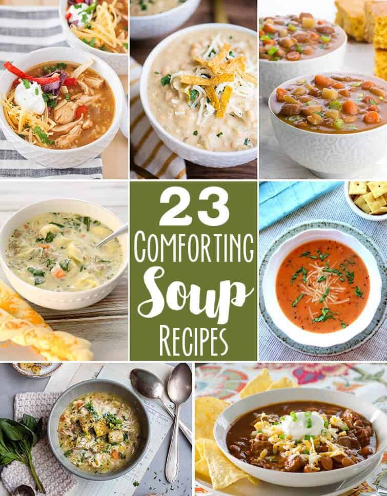 Instant pot Italian chicken soup + 23 Comforting soup recipes