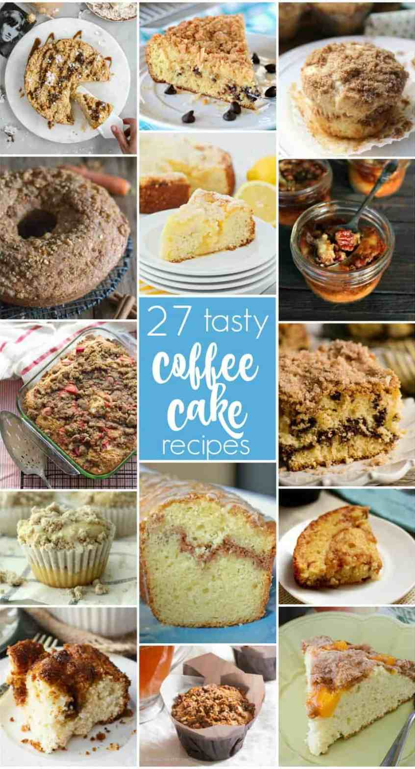 Round up of coffee cake recipes
