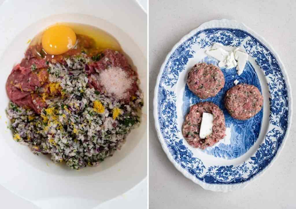 How to make Greek bifteki