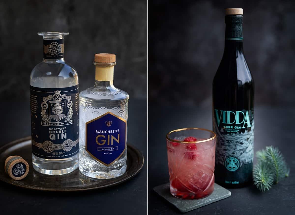 Manchester gin, Boatyard gin, Vidda Torr