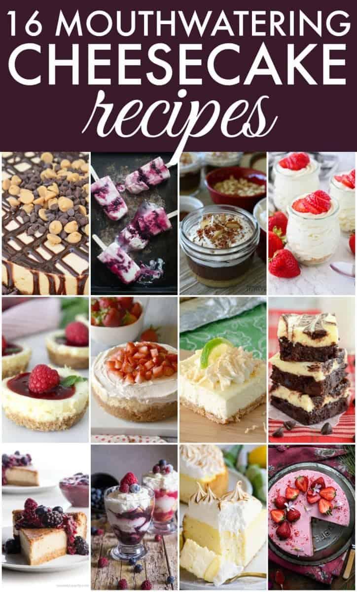 Cheesecake recipes roundup