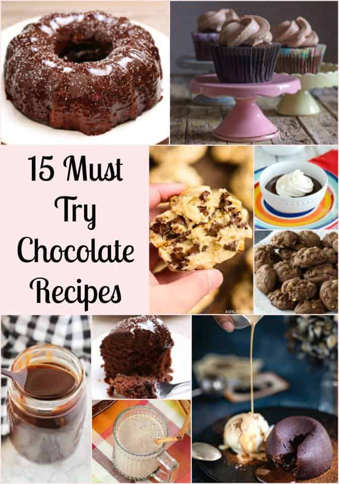15 Must-make chocolate recipes