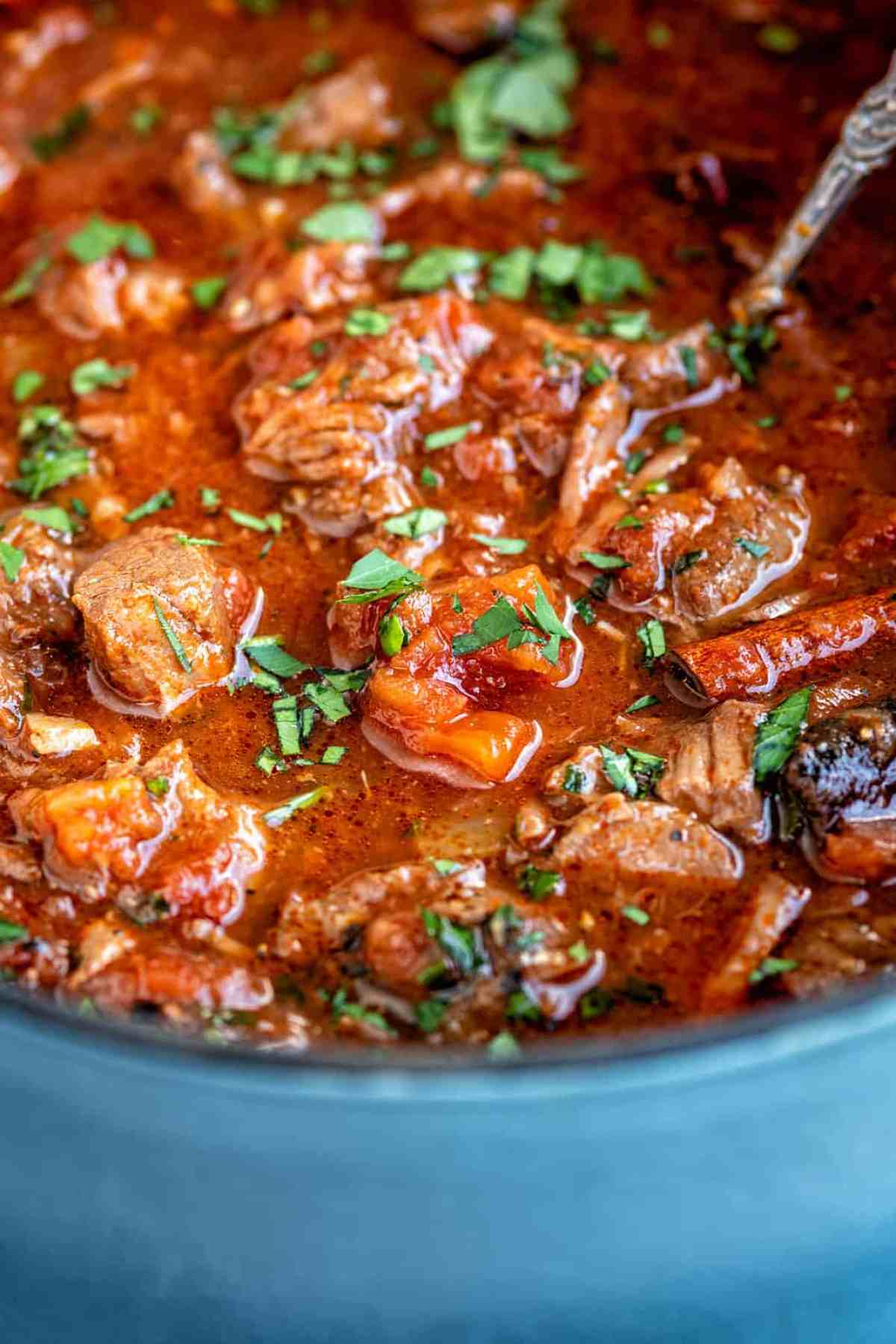 Greek beef stew