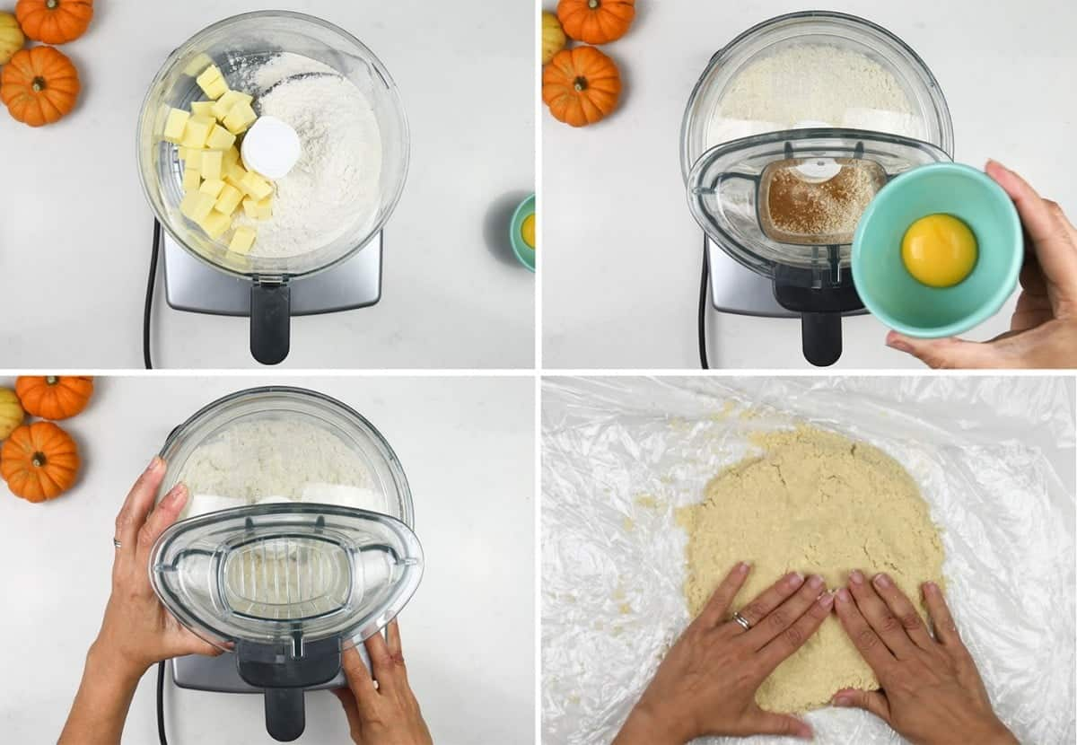 Making shortcrust pastry from scratch