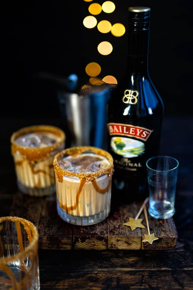 Baileys White Russian drink