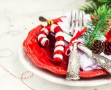 christmas table holiday background 3YSY6PM - Blanquette de dinde