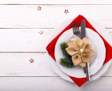christmas table setting PBP9QXL - Menu meli melo Fêtes