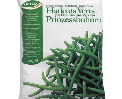 haricots verts très fins - Haricots verts très fin