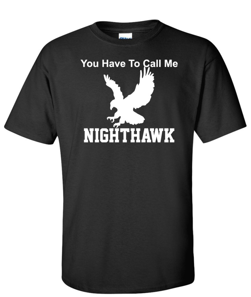 CALL ME NIGHT HAWK black