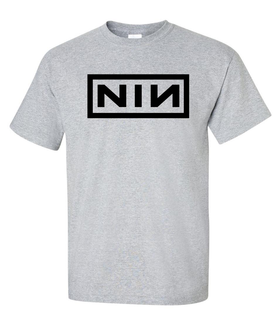 NIN Nine inch nails Logo Graphic T Shirt - Supergraphictees