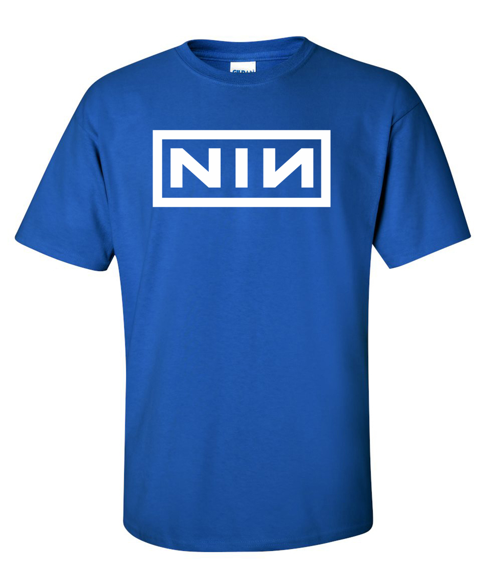 NIN Nine inch nails Logo Graphic T Shirt - Supergraphictees