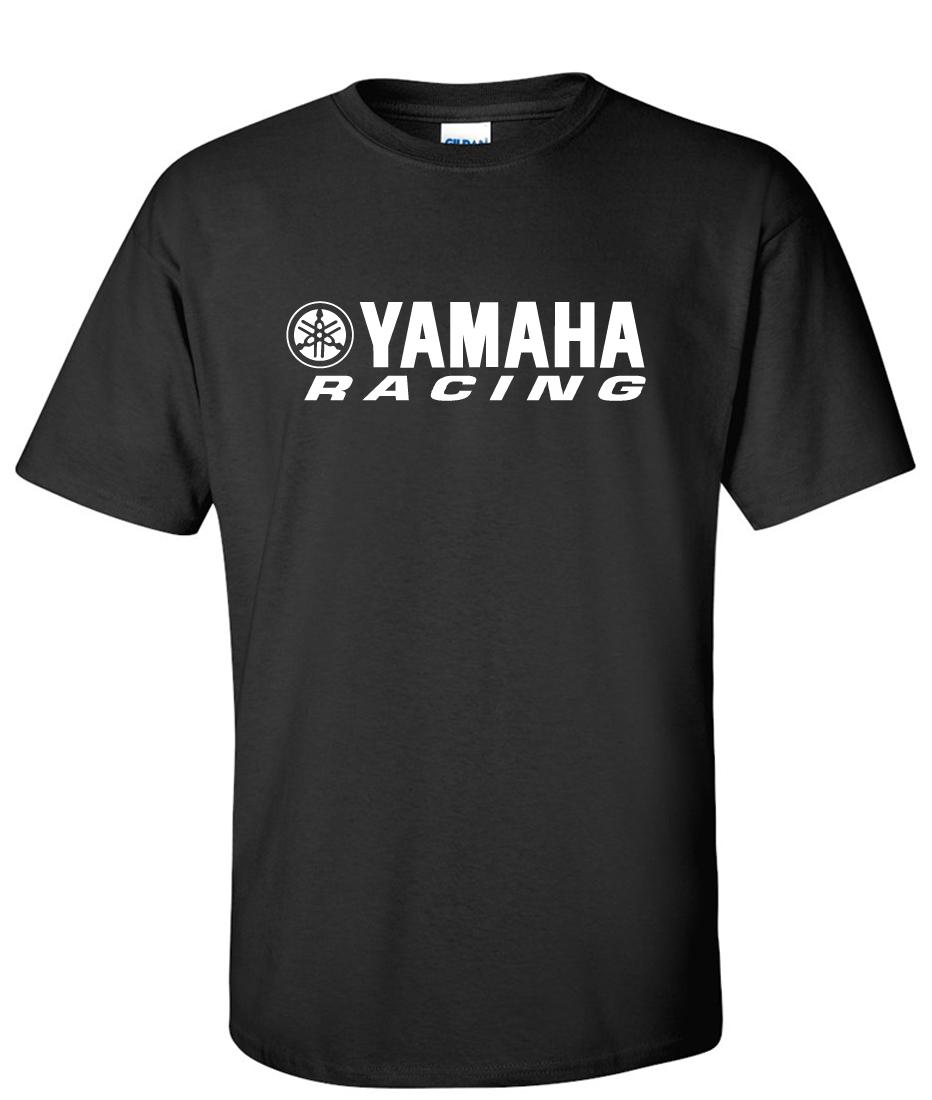 Black yamaha t shirt - Yamaha Racing Logo Graphic T Shirt