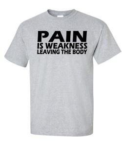 pain weakness gray