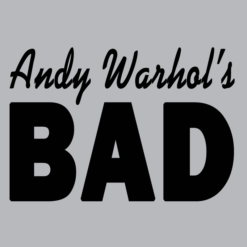 andy warhols bad logo graphic t shirt supergraphictees